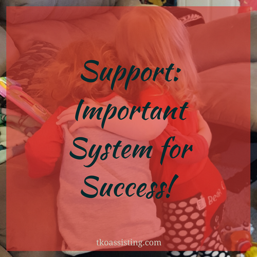 Support: Important System for Success