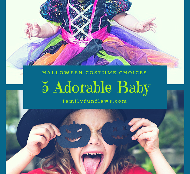 5 Adorable Baby Halloween Costume Choices