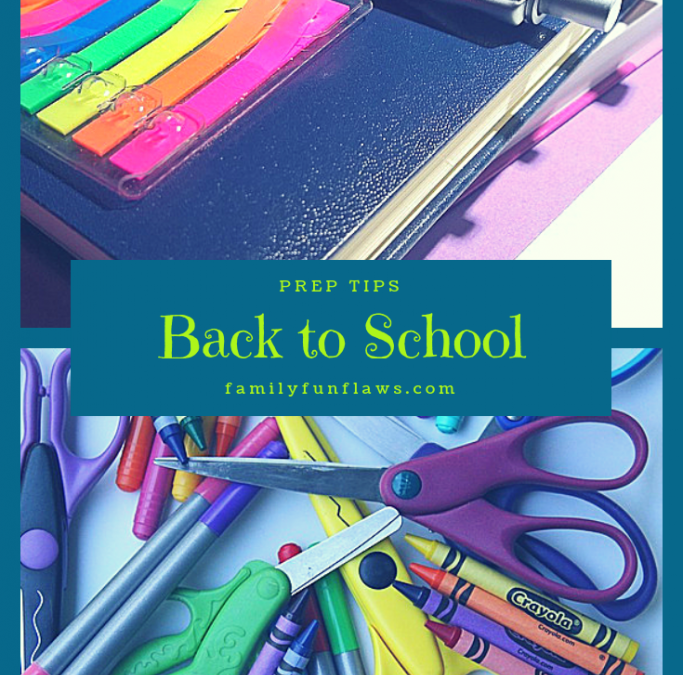 Back to School Prep Tips