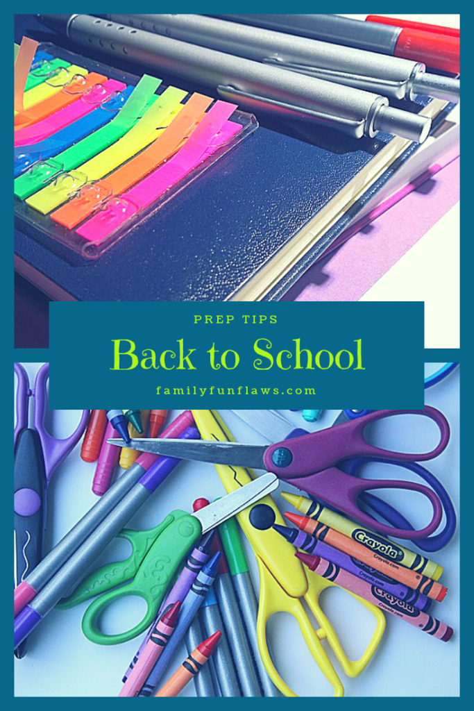 Back to School Prep Tips