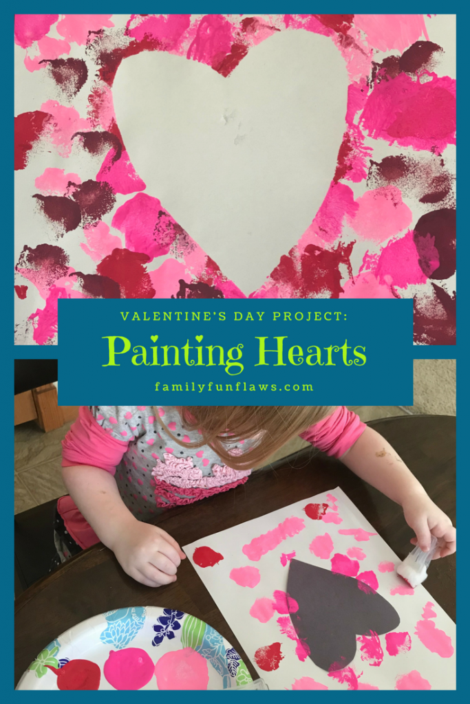 Valentine's Day Project: Painting Hearts