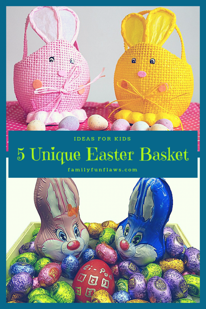 5 unique easter basket ideas