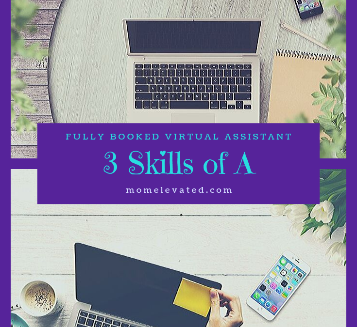3 Skills of A Fully Booked Virtual Assistant