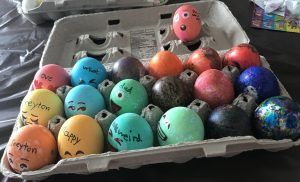 Easter Egg Dying 2
