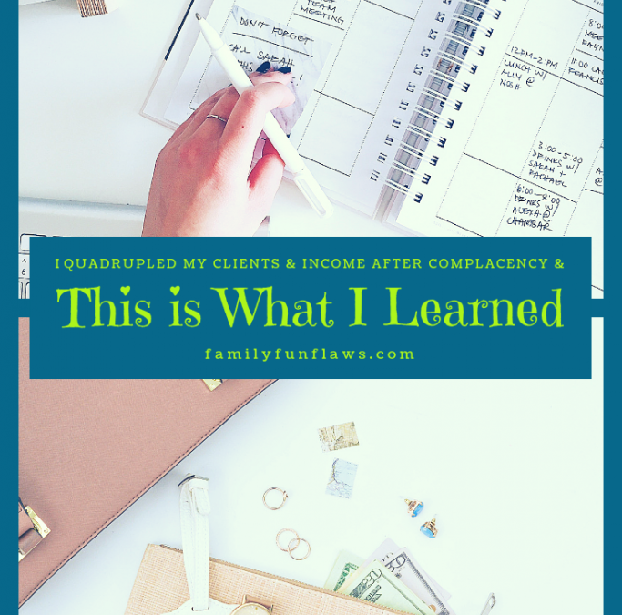 I Quadrupled My Clients & Income After Complacency & This Is What I've Learned