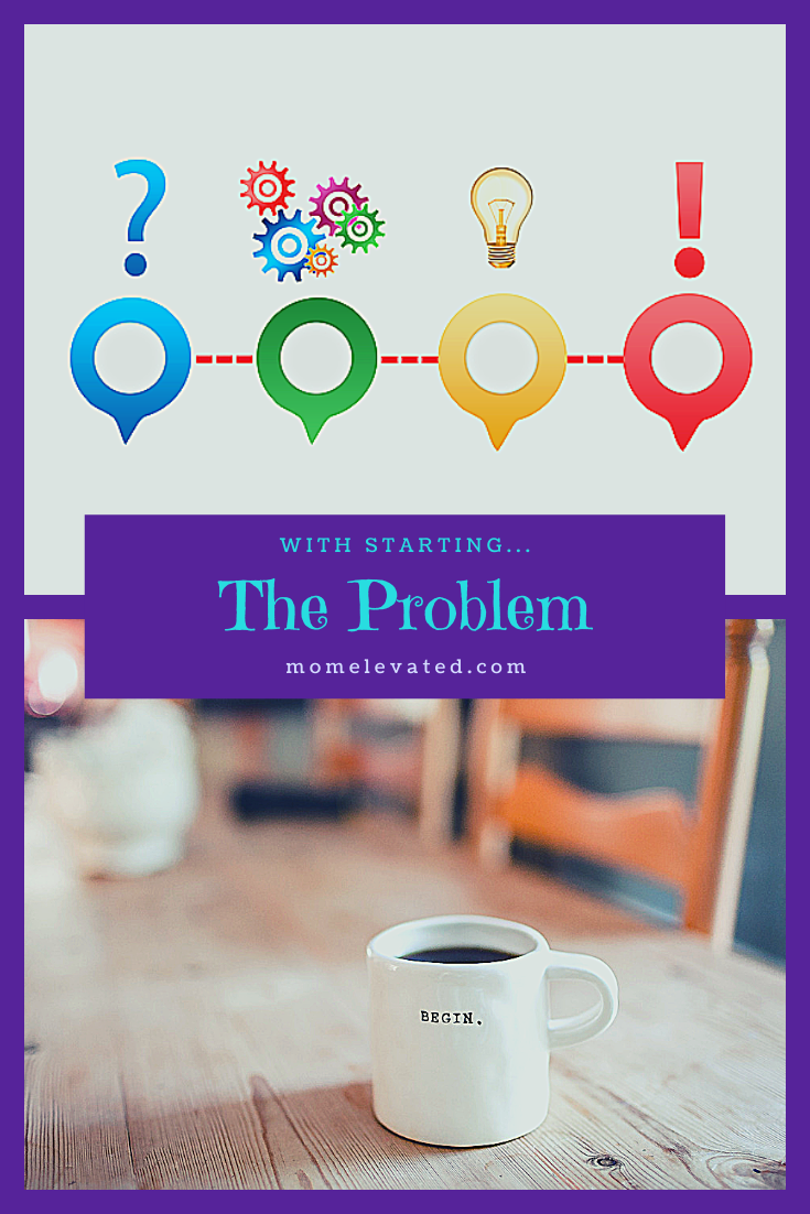 The problem with starting...