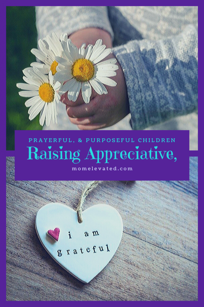 Raising Appreciative Children